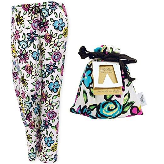 Hello Mello Awake Break Lounge Pants W Matching Giftable Tote Medium Large Size