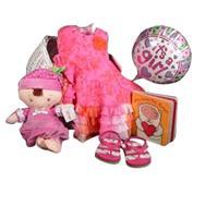 Daddy's Little Princess Baby Girl Gift with Ralph Lauren Sandals Spring/Summer