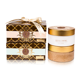 Shelley Kyle Sorella Sugar Scrub and Royal Creme Set