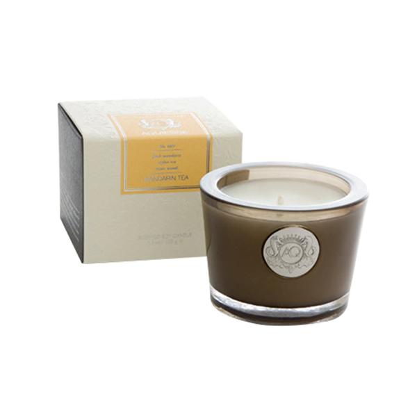 Aquiesse Portfolio Collection Scented Tin Candle Mandarin Tea 11oz