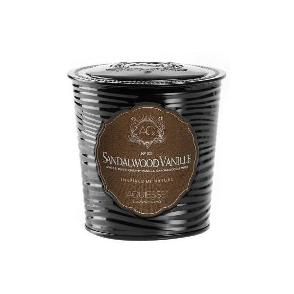 Aquiesse Portfolio Scented Tin Candle Sandalwood