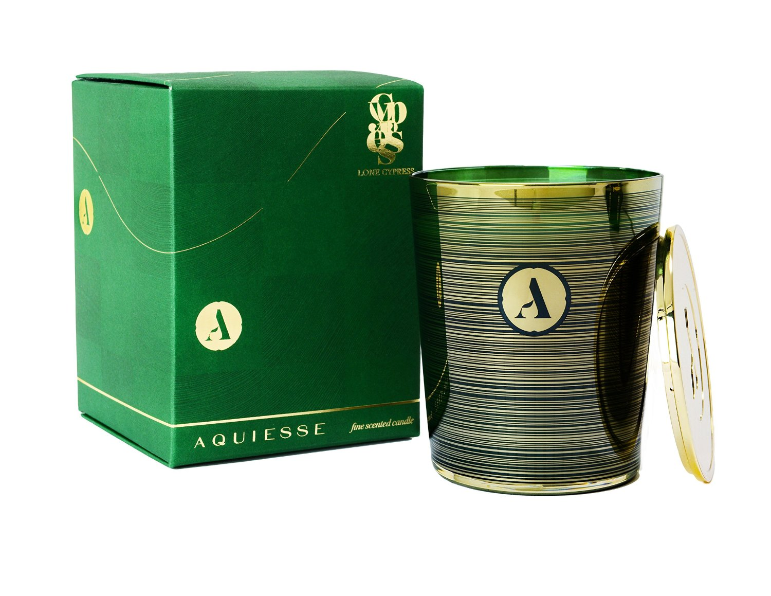 Aquiesse Holiday Lone Cypress Soy Candle Luxury Candles