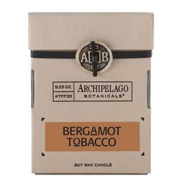 Archipelago Signature Bergamot Tobacco Soy Wax Candle