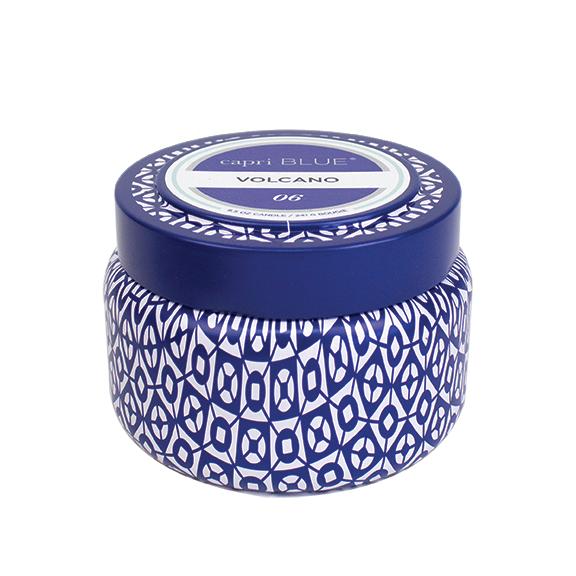 2e94aeb869ba4a Capri Blue Volcano Printed Travel Tin Candle 8.5oz