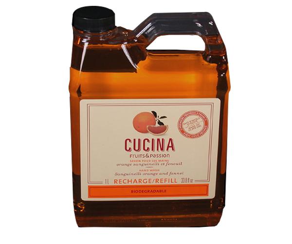 Cucina Fusion: Cucina Sanguinelli Orange & Fennel Hand Soap REFILL