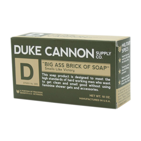 Big ass bar of soap
