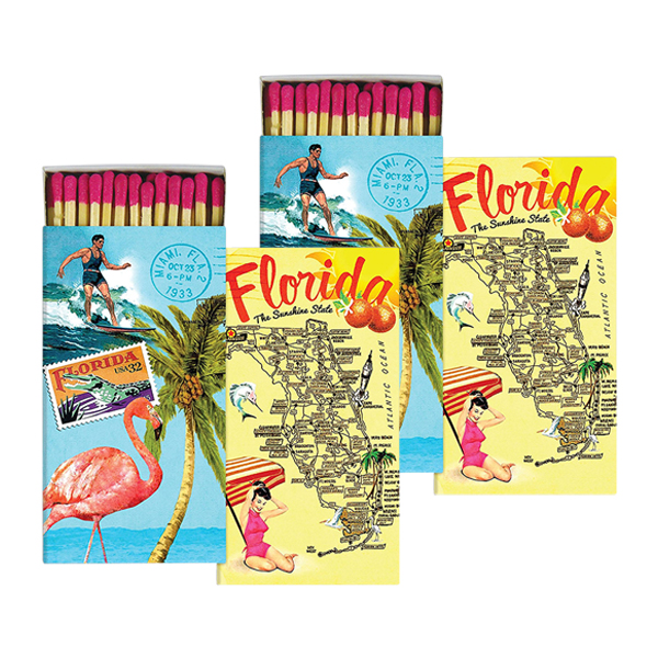 Large Map Of Florida.Homart Large Decorative Map Florida Matches Set Of 2