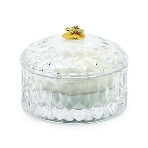 Lady Primrose Royal Extract Crystal Powder Jar By Puff