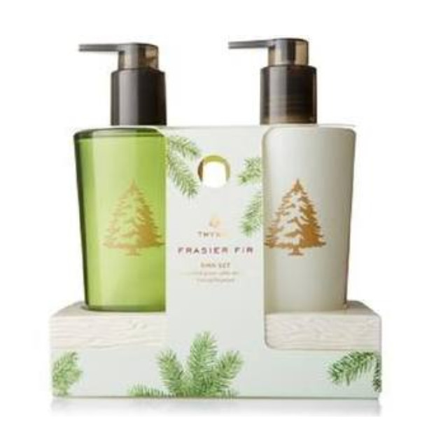 Thymes Frasier Fir Hand Wash Amp Lotion Sink Set 8 25oz
