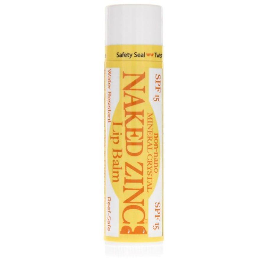 The Naked Bee Naked Zinc Lip Balm SPF 15 4.25g   Fragrance
