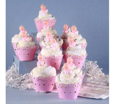 Baby Shower Cupcakes - Girls