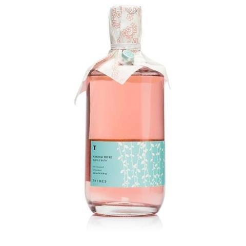Thymes Kimono Rose Bubble Bath 15.75 Oz