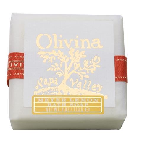 Olivina Meyer Lemon Bath Soap 4oz