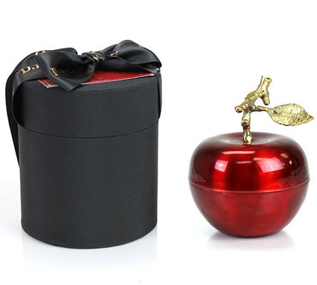 D.L. & Company La Pomme Rouge Candle - Medium Red Apple