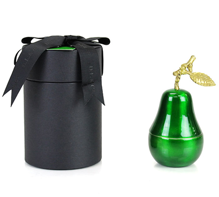 D.L. & Company La Poire Verte Candle - Medium Green Pear