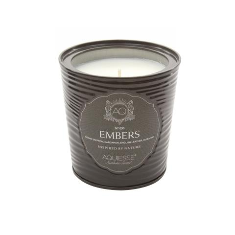 Aquiesse Portfolio Collection Scented Tin Candle Embers 11oz
