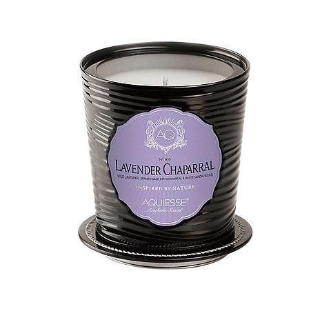 Aquiesse Portfolio Collection Scented Tin Candle Lavender Chaparral 11oz