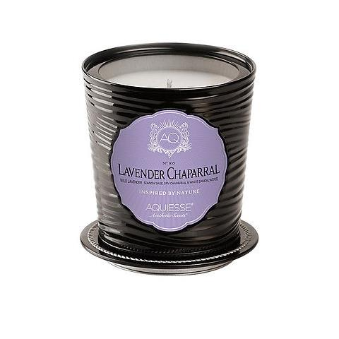 Aquiesse Portfolio Collection Scented Tin Candle Lavender Chaparral 11oz