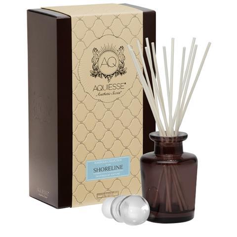 Aquiesse Portfolio Collection Fragrance Oil Reed Diffuser Shoreline 9.5oz