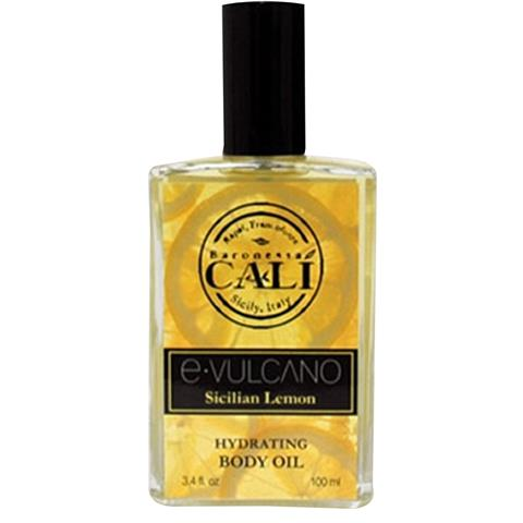 Baronessa Cali E.Vulcano Sicilian Lemon Hydrating Body Oil 3.4oz