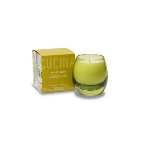 Cucina Coriander and Olive Tree Perfumed Candle 5.8oz