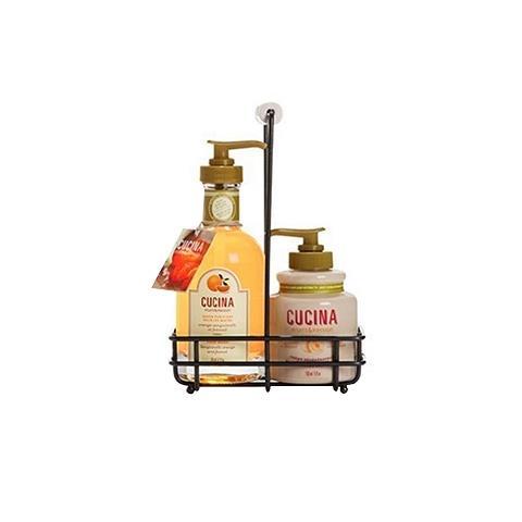 Cucina Sanguinelli Orange & Fennel DUO Liquid Hand Soap 6.7oz & Hand Cream 5oz