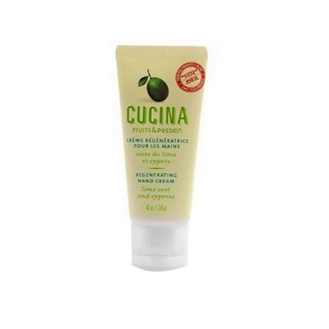 Cucina Lime Zest & Cypress Regenerating Hand Cream 1.3oz