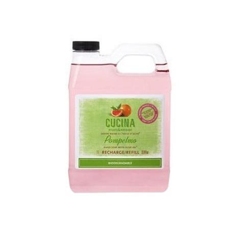 Cucina Pompelmo (Grapefruit) Liquid Hand Soap Refill 33.8oz