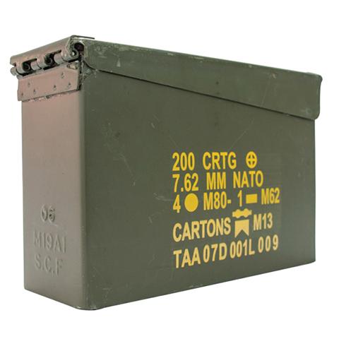 Duke Cannon Military Ammo Case Display