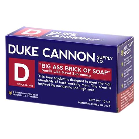 Duke Cannon Big Ass Brick of Soap Blue Bar 10oz