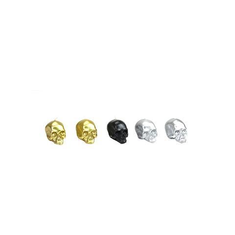 D.L. & Co. Signature Metallic Colors Mini Skull 5 Piece Gift Set