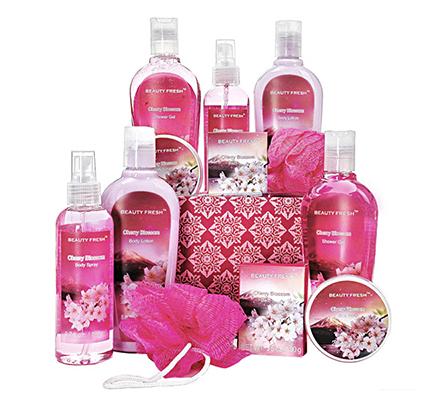 Cherry Blossom Spa Essentials