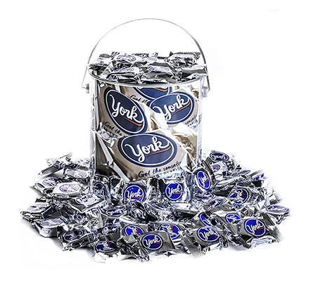 Bucket Full of York Peppermint Patties