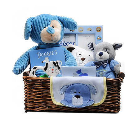 Dawgie and Friends Baby Gift Basket