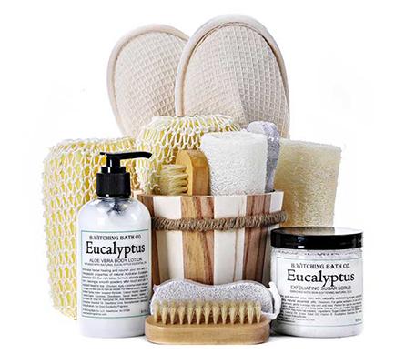 Organic Eucalyptus Spa Basket
