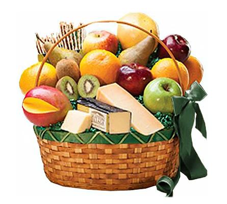 Connoisseur Fruit & Gourmet Basket