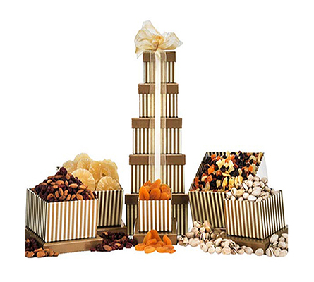Dry Fruit & Nut Tower