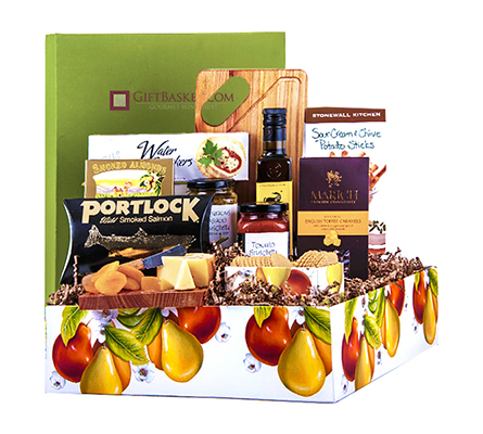 Holiday Deluxe Snack Basket