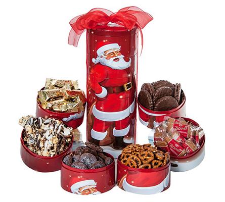 Merry Christmas Tower Santa