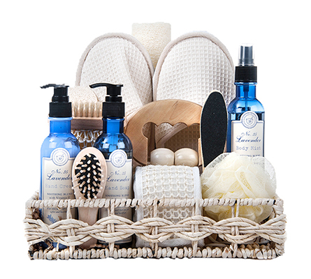 Refreshing Lavender Spa Basket