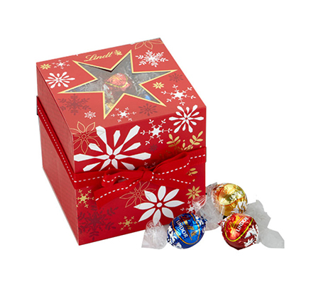 Holiday Snowflake Gift Box