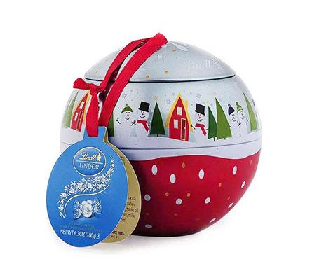 Snowman Ornament LINDOR Truffles