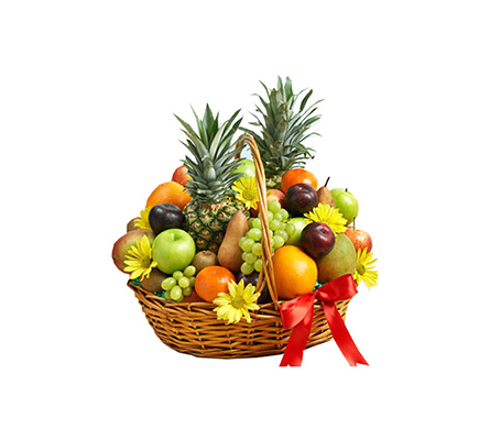The Supreme Deluxe All Fruit Basket