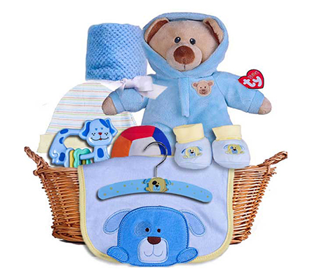 Teddy basket