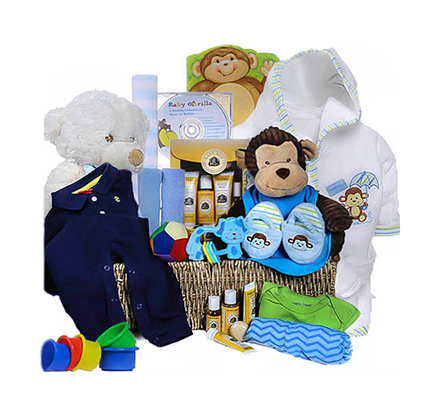 The Ultimate Baby Gift Basket For Boys
