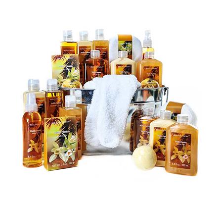 Vanilla Passion Spa Essentials