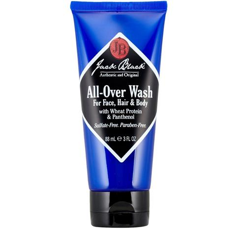 Jack Black All-Over Wash For Face, Hair & Body 3oz
