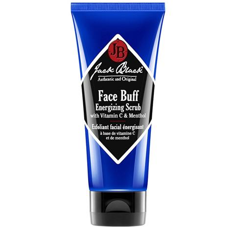 Jack Black Face Buff Energizing Scrub Tube Vitamin C & Menthol 3oz