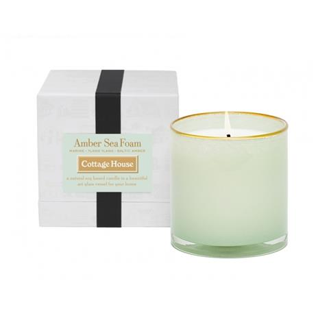 Lafco Cottage House Candle Amber Sea Foam 16 oz