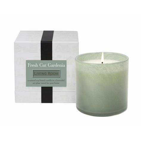 Lafco Living Room Candle Fresh Cut Gardenia 16oz